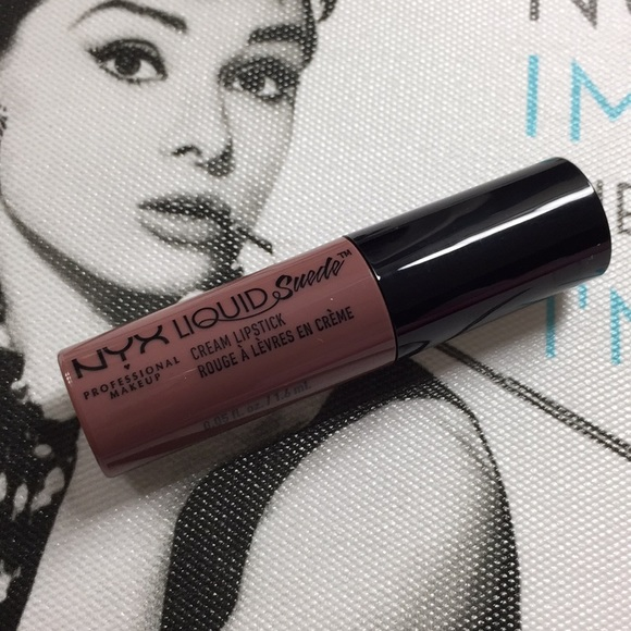Nyx Makeup New Liquid Suede Lipstick Shade Honeymoon Poshmark